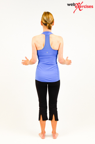 orem posture care scapula retraction
