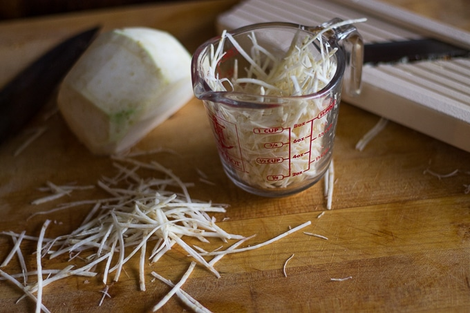 New Orleans celery root remoulade sauce-www.beyondthebayoublog.com