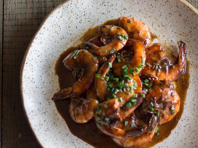 BBQ shrimp recipe-beyondthebayoublog.com