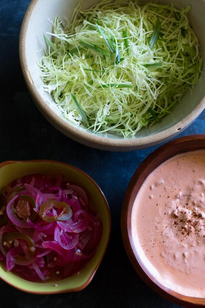 beer braised shrimp tacos-www.beyondthebayoublog.com