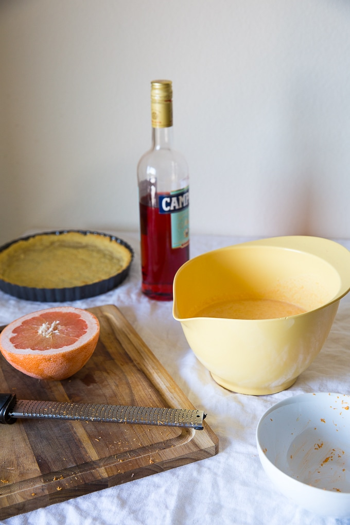 grapefruit custard pie recipe-www.beyondthebayoublog.com-4