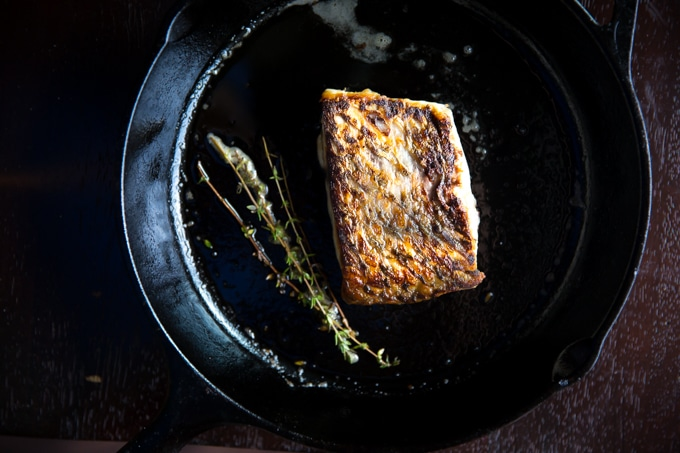 perfect seared fish-www.beyondthebayoublog.com