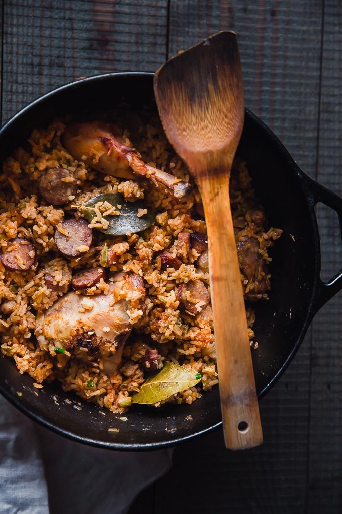 cajun jambalaya recipe-www.beyondthebayoublog.com