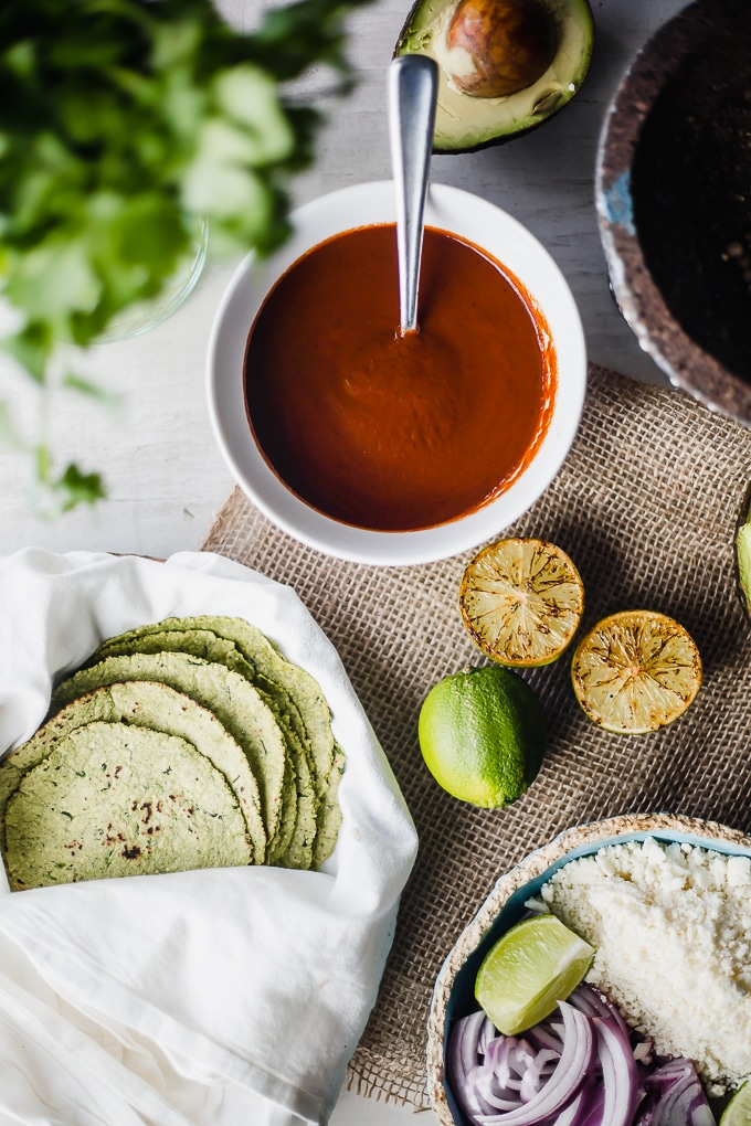 cilantro corn tortillas-beyond the bayou blog