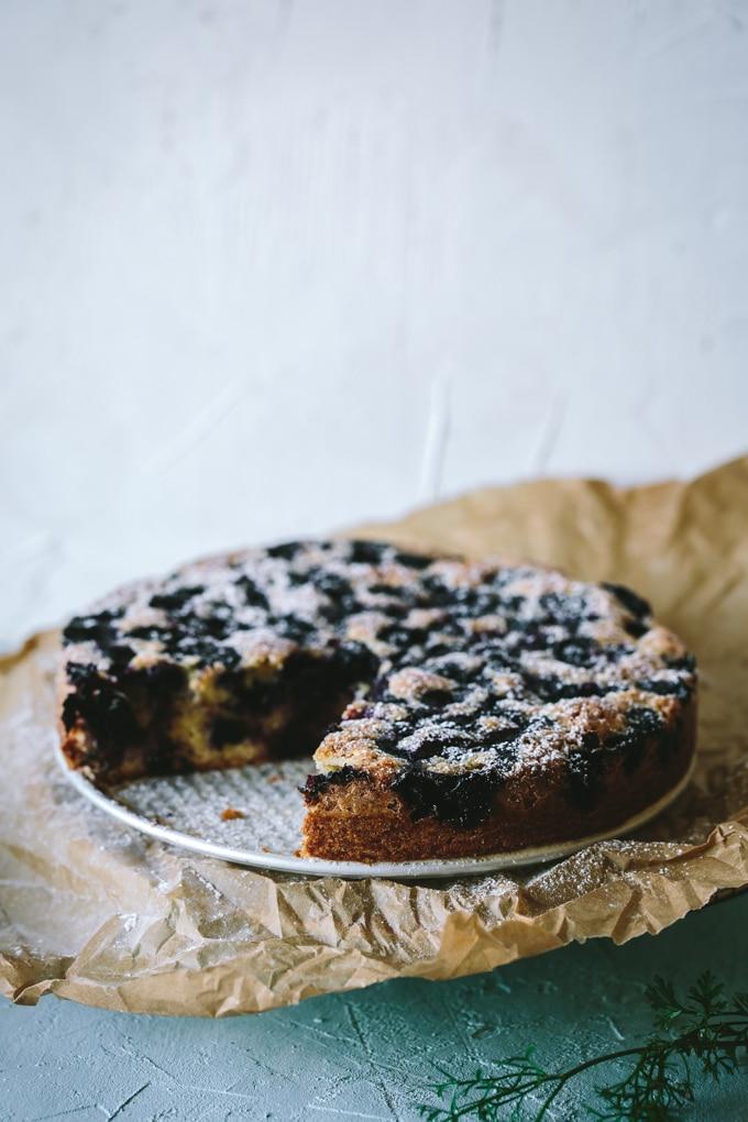 blueberry cake beyondthebayoublog