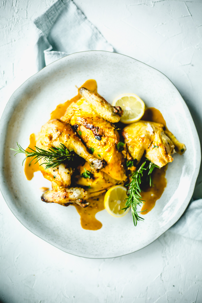 saffron lemon chicken
