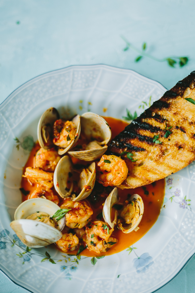 shrimp and clams recipe