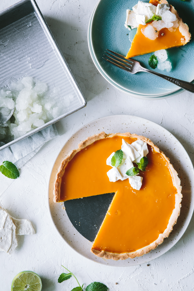 mango curd tart recipe