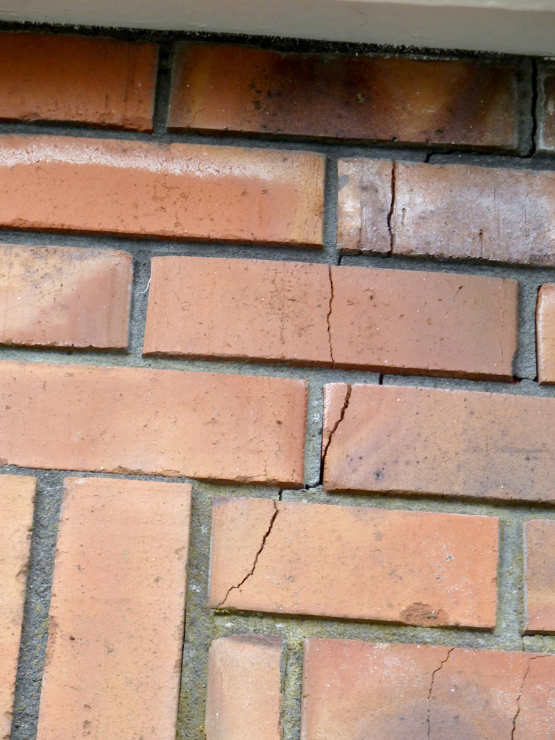 Chimney Roof Cracks