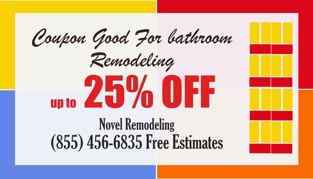 Bathroom Remodel coupons 2019