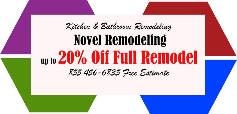 20% Off Kitchen Remodel