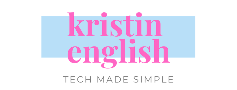 Kristin English - Tech Made Simple