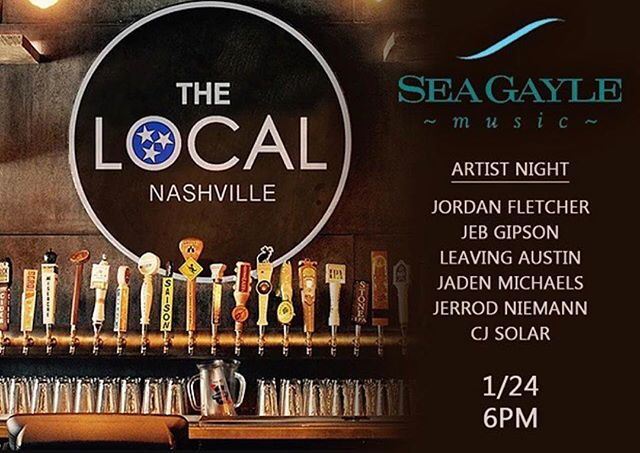 This Thursday y'all! Come hang out with me and the guys! :) May even hear some songs off the new ep coming soon 😌 @seagaylemusic
