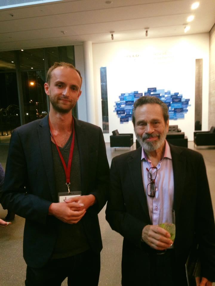 Tom with Maestro Leo Brouwer
