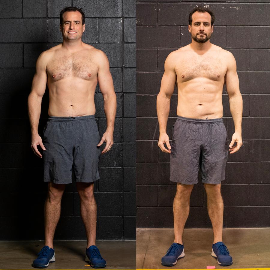 Adam - Lost 6 lbs Lost 1% Visceral FatLost 1.5 Inches