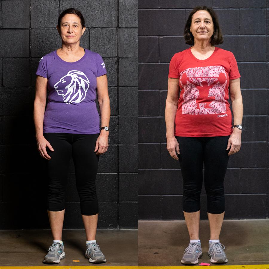 Barbara - Lost 3 lbs Lost 0.40% Body Fat Lost 2 Inches