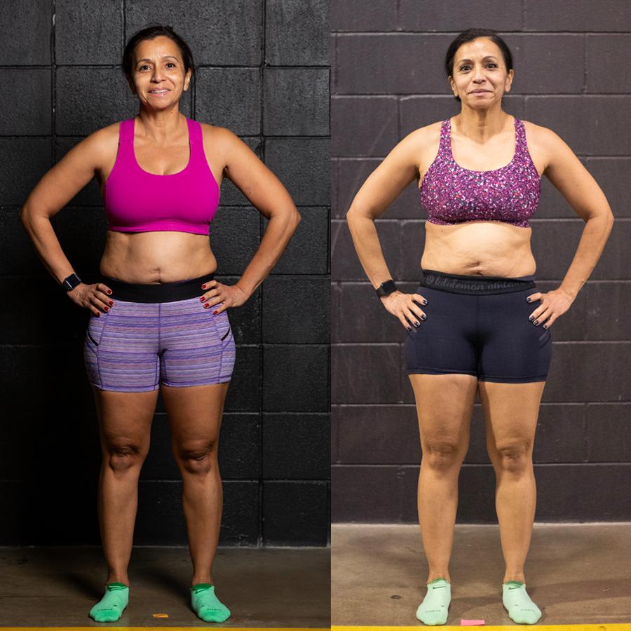 Laura - Lost 2.40% Body Fat Lost 2.9 lbs