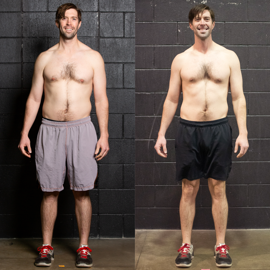 Max - Lost 2.7 lbs. Lost 2.2% Body Fat Gained 1.5 lbs. Lean Muscle