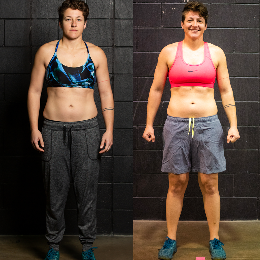 Sally - Lsot 4 lbs Lsot 0.20% Body Fat Lost 3.5 Inches