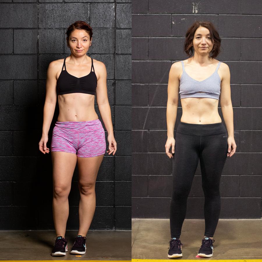 Vesy - Lost 4lbs Lost 4.70% Body Fat Gained 2 lbs of Lean Muscle