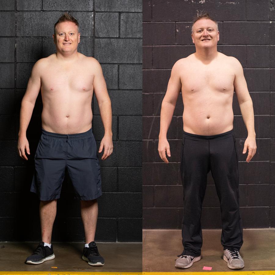 Bill - Lost 1.8 lbs. Lost 1.7% Body Fat