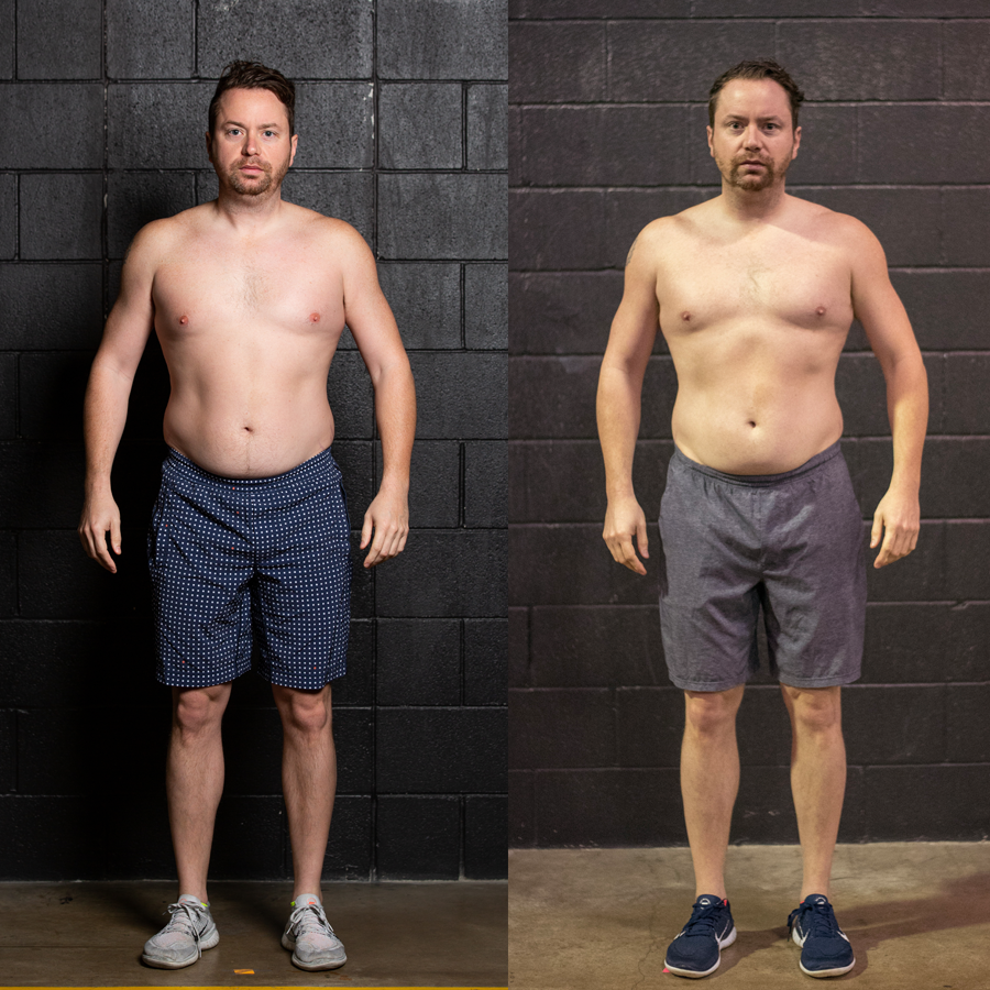Chris D - Lost .75 Inches Lost 2.5% Body FatGained 2.8 lbs