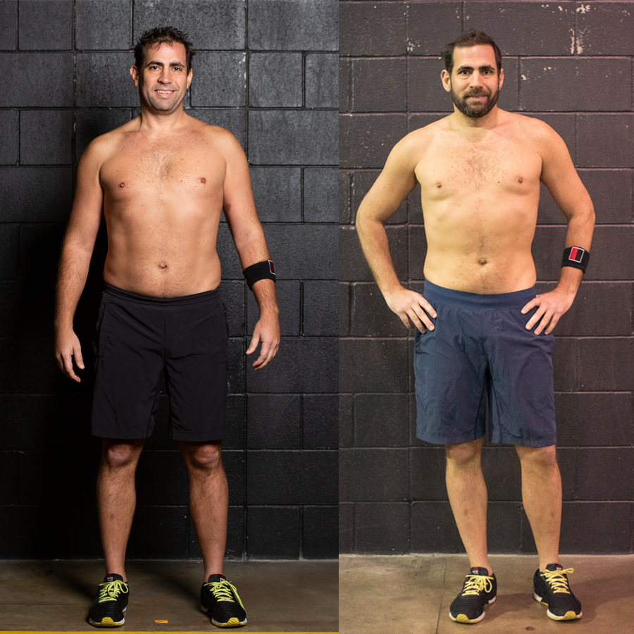 Rafael - Lost 11.2 lbsLost 6.5 InchesLost 4.2% Body Fat