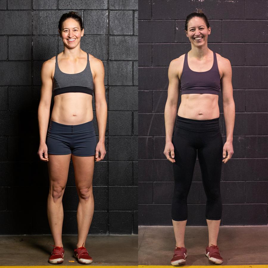 Megan N - Lost 1.8 lbs8 InchesLost 3.4% Body Fat