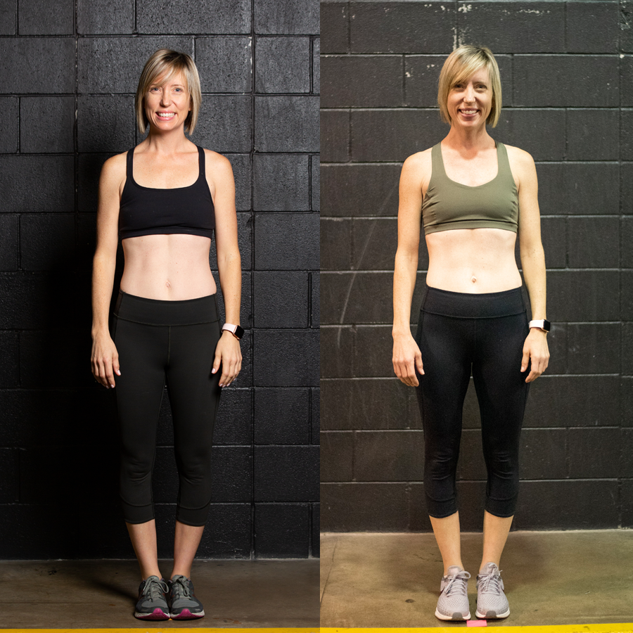 Megan L. - Lost 1 lbLost 1.30% Body FatLost 2.5 Inches