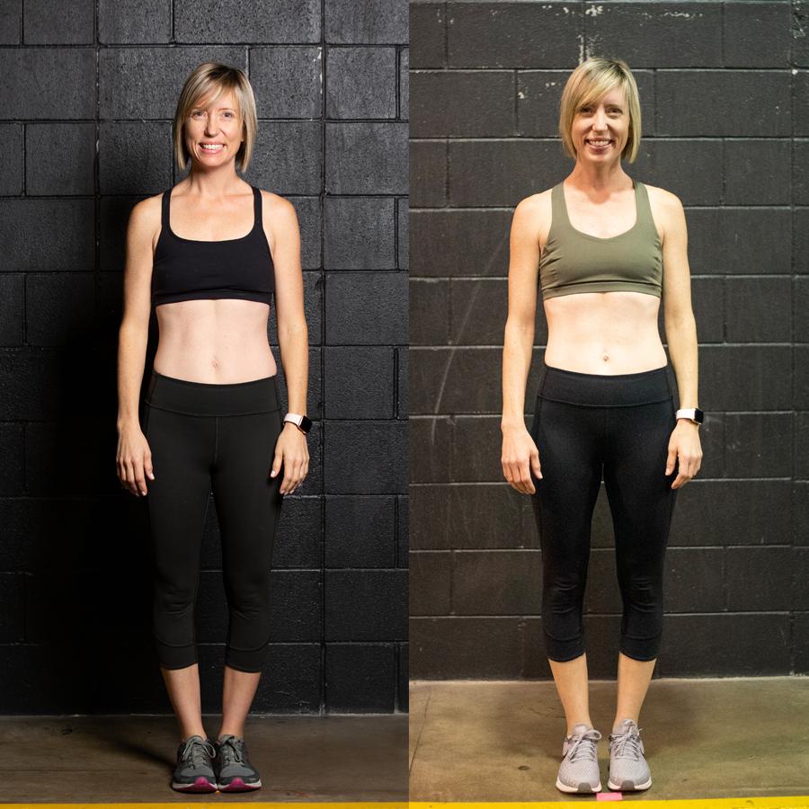 Megan L. - Lost 1 lbLost 1.30% Body FatLost 2.5 Inches