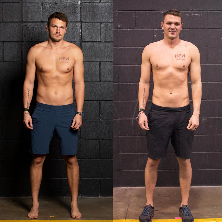 Matt S - Lost 4.7 lbs.Lost 2.2% Body Fat Gained .5 lbs Lean Muscle