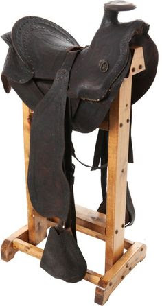 George A. Custer Personal Cavalry Saddle