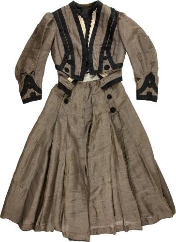 Libbie Custer Two-Piece Mohair Suit Dress