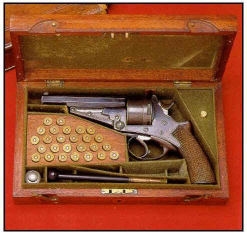Tom Custer's Galand & Sommerville Revolver
