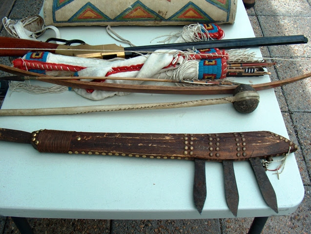 Indian Weapons from Reno's Retreat