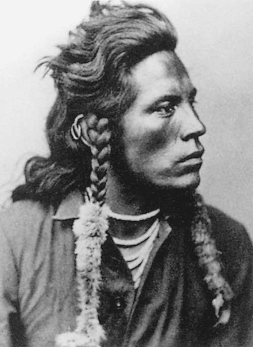 Curly, Crow Indian Scout