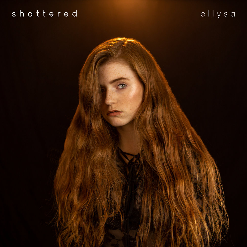 ellysa shattered cover art album