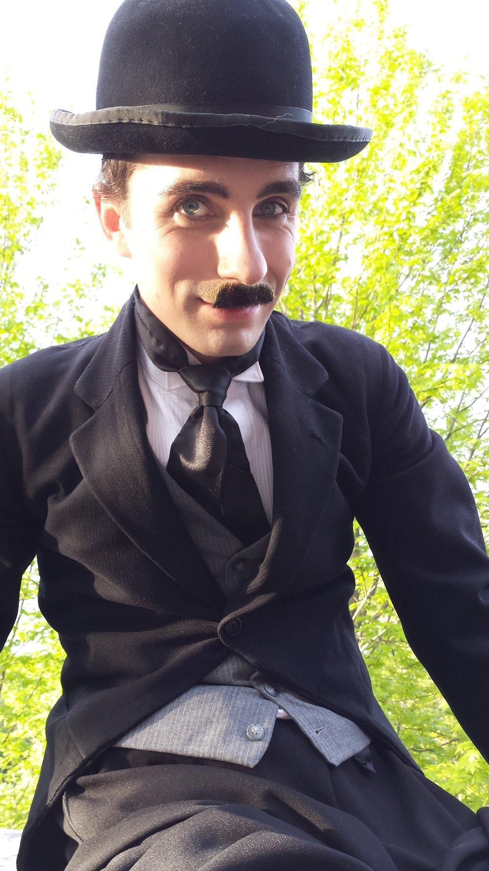 Charlie Chaplin stilt walker