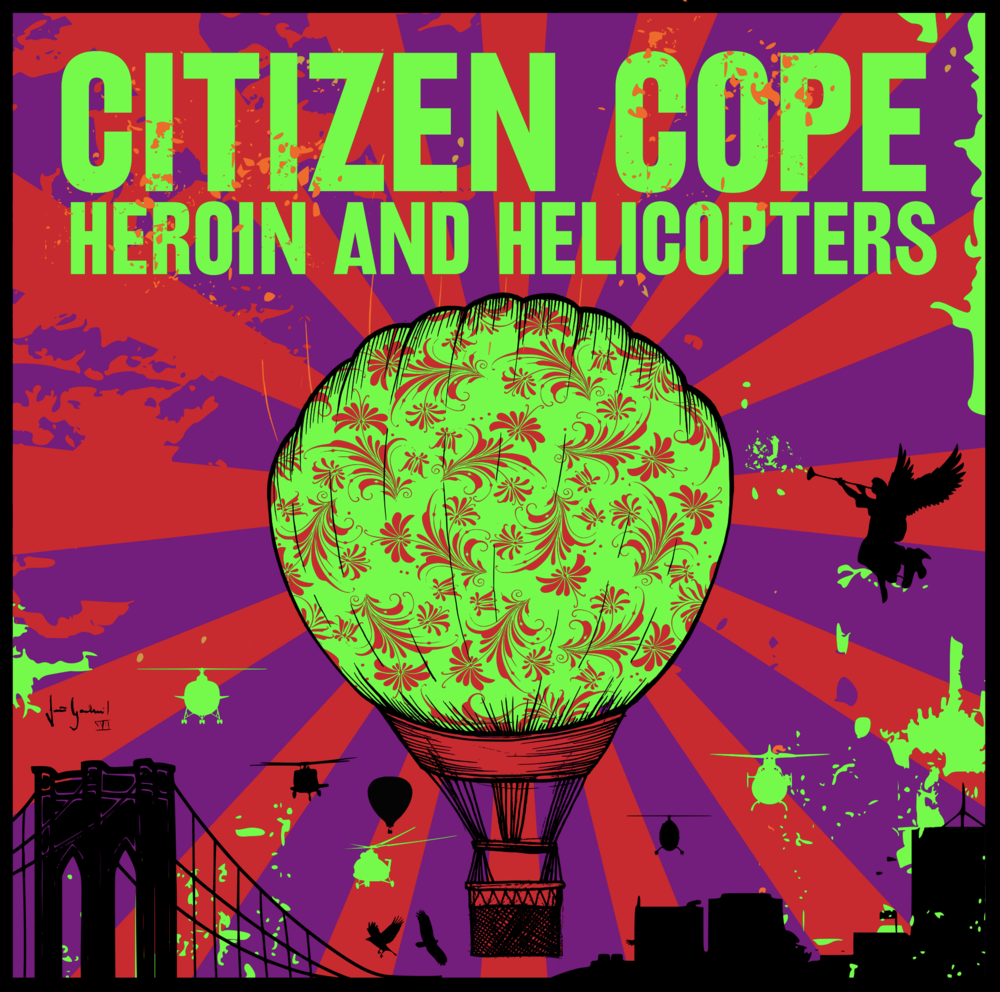 Heroin And Helicopters - Pre Order Now (Available 3.1.2019)