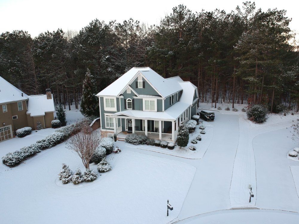 A photo I shot of the house on the Snow Day!