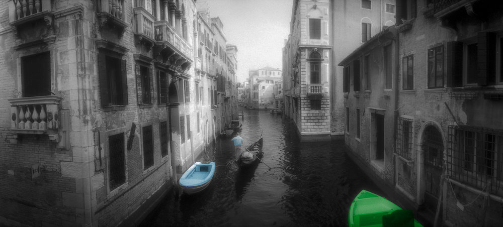 Venice Canal in color