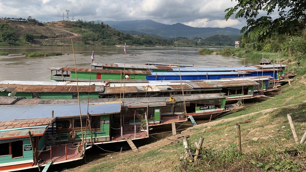 16 - hours on the Mekong River via slowboat