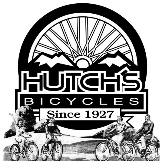 One of the original Hutch's Bicycles logo's.