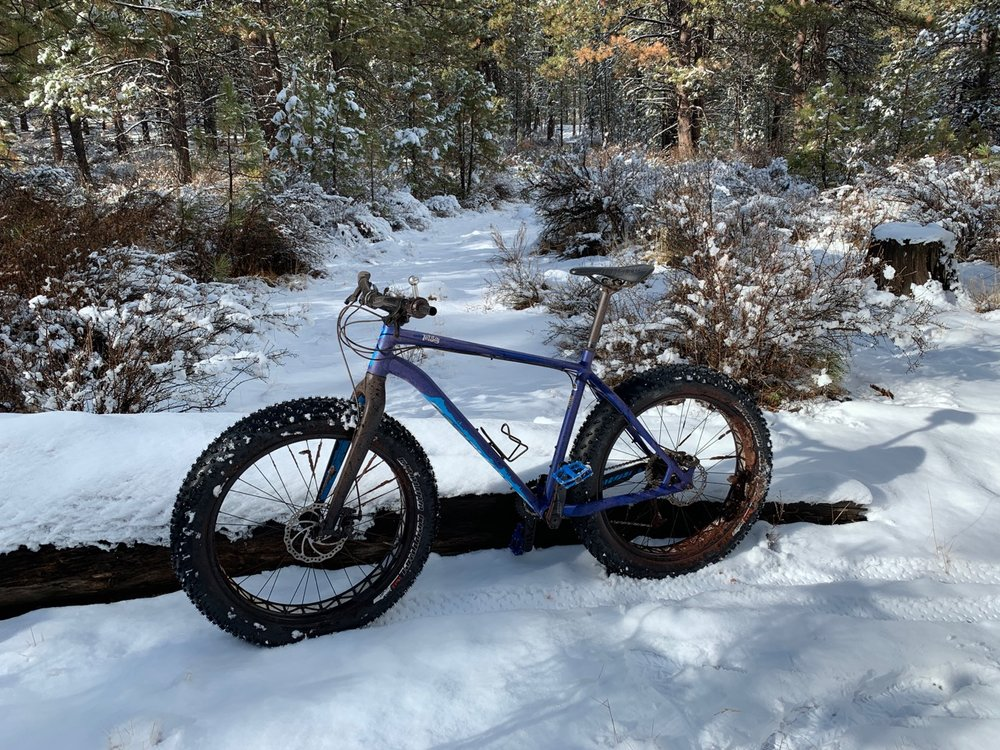 When the snow is too deep up the mountain, the Deschutes River Trail is a great alternative.