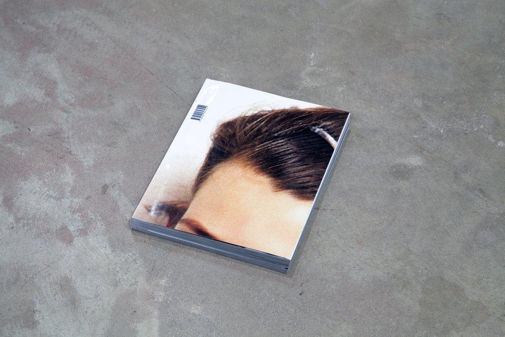 Paul Elliman    Untitled (September Magazine)  2013 Printed magazine 9 x 11 x 1 inches