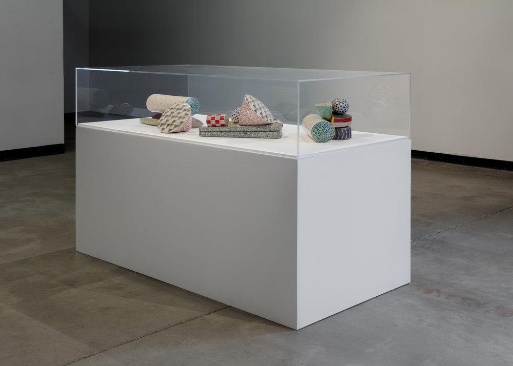 Karen Thuesen Massaro   Forum  2008 Clay and Glazes 8.6 x 56 x 21 inches 7 parts