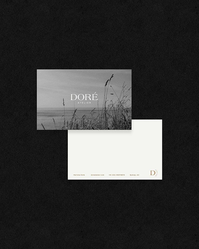 "I have some exciting ideas lined up for 2019, and one of them is ""off-the-shelf brands"". I'll be creating a few more over the next month, but this is a little glimpse of the first one. Doré Atelier is a template design that can be customised for any business. It includes set logo/monogram styles, fonts, colours, supporting graphics and designs, and can be ready for use in a matter of days! The template includes all of the elements that you may need to own a beautiful, visually strong and consistent brand identity. Plus, a full website is included!!! To view the template style, head on over to the link in profile, or pop me an email for more details! It's the perfect, fastest and most cost effective way to give your brand a face lift! ✨"