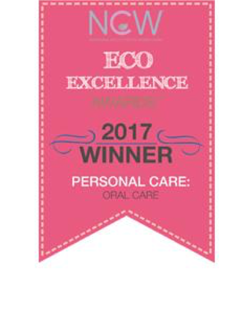 2017 Eco-Excellence Oral Care Award Winner -