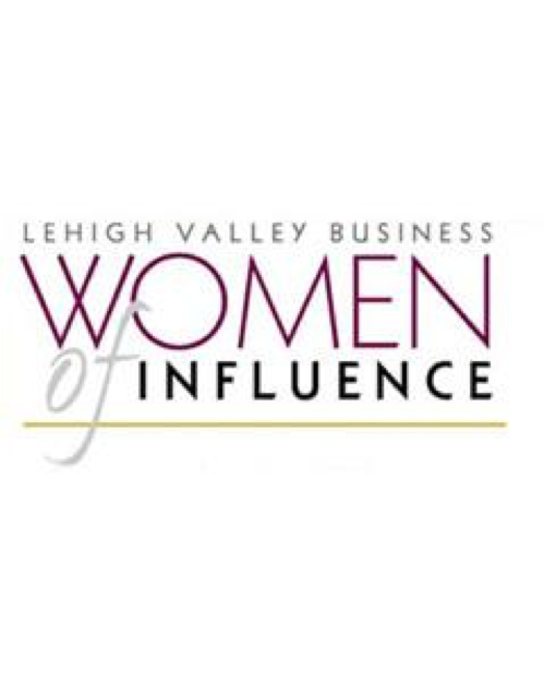 2017 Lehigh Valley Business Women of Influence Award -