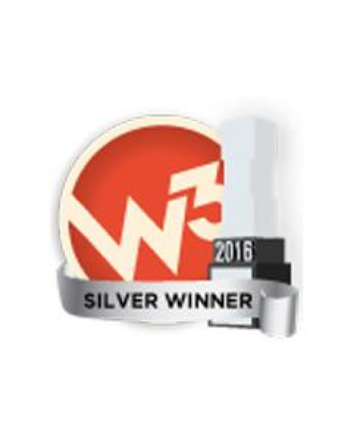 2016 W³ Silver Award for Website Shopping and Visual Appeal -